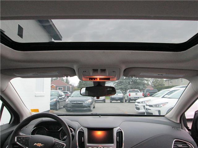 2018 Chevrolet Cruze LT Auto (Stk: 181577) in Richmond - Image 14 of 14