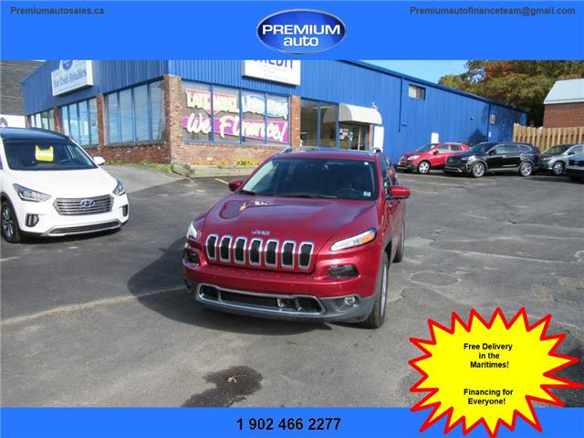 2017 Jeep Cherokee Limited (Stk: 549989) in Dartmouth - Image 1 of 24