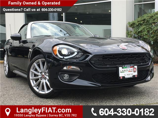2017 Fiat 124 Spider Lusso (Stk: LF009210) in Surrey - Image 1 of 25