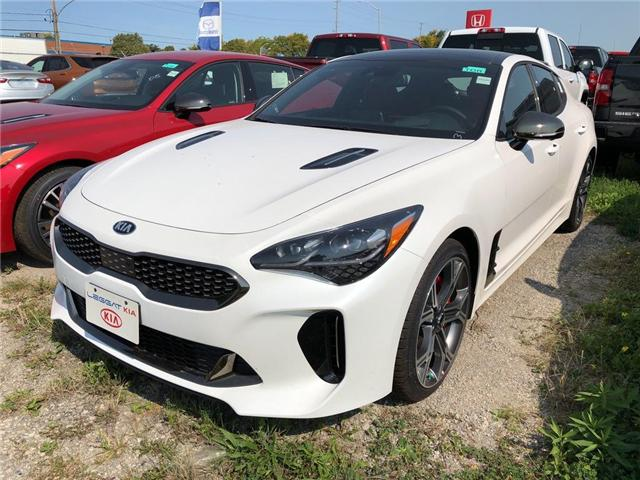 2019 Kia Stinger Gt Limited Gt Limited W Red Interior For