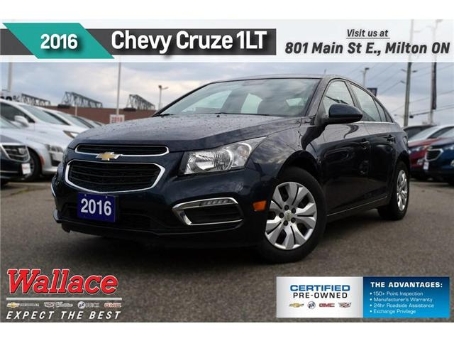 2016 Chevrolet Cruze LT 1LT/7 SCREEN/REAR CAMRA/REMOT STRT/6-SPKR (Stk: PL5171) in Milton - Image 1 of 3