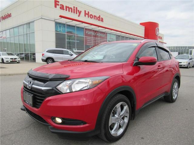 2016 Honda HR-V EX-L, with Navigation! AWD!! (Stk: 8118161A) in Brampton - Image 1 of 28