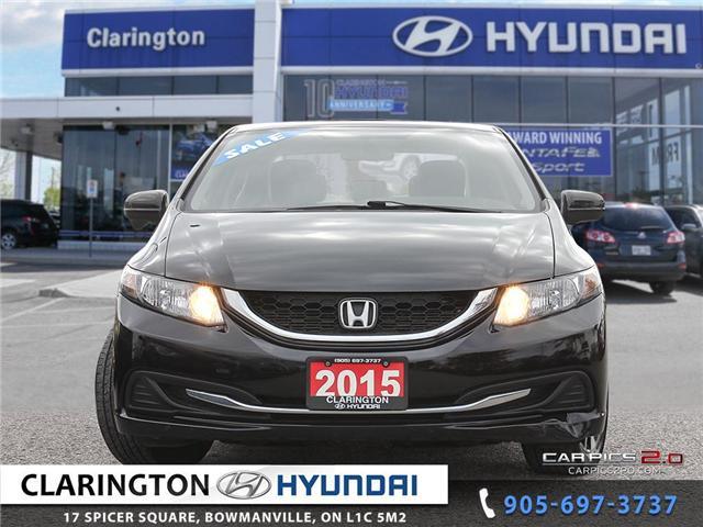 2015 Honda Civic EX (Stk: U785) in Clarington - Image 2 of 27