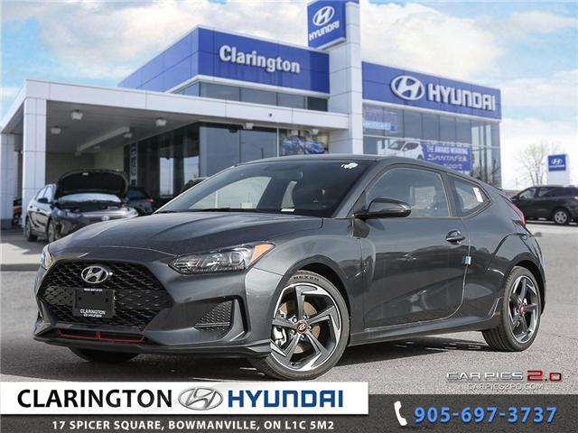 2019 Hyundai Veloster Turbo (Stk: 18689) in Clarington - Image 1 of 27