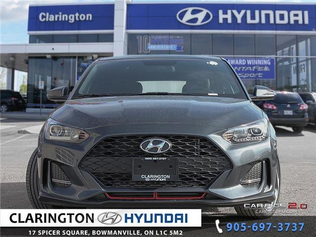 2019 Hyundai Veloster Turbo (Stk: 18689) in Clarington - Image 2 of 27