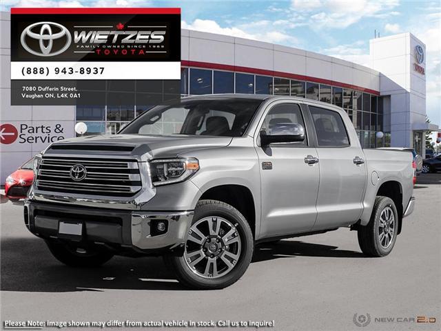 2019 Toyota Tundra 4x4 Crewmax Platinum 5.7L (Stk: 67266) in Vaughan - Image 1 of 26