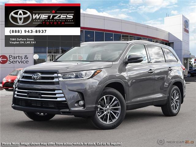 2019 Toyota Highlander XLE AWD (Stk: 67402) in Vaughan - Image 1 of 27