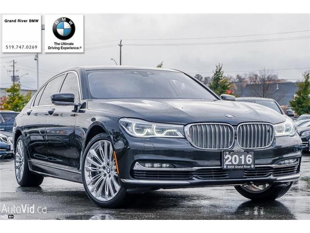 2016 BMW 750 Li xDrive (Stk: PW4495) in Kitchener - Image 1 of 22