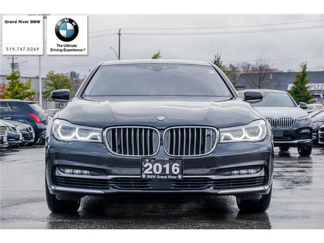 2016 BMW 750 Li xDrive (Stk: PW4495) in Kitchener - Image 2 of 22
