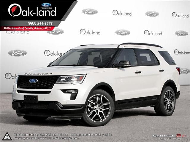 2018 Ford Explorer Sport (Stk: R3356) in Oakville - Image 1 of 26