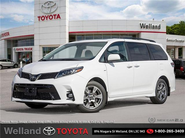 2019 Toyota Sienna Technology Package (Stk: SIE6186) in Welland - Image 1 of 24