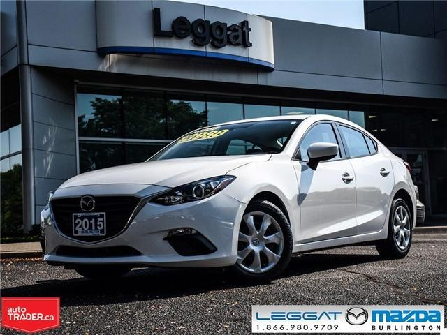 2015 Mazda Mazda3 MANUAL W/ BLUE TOOTH (Stk: 1651) in Burlington - Image 1 of 17