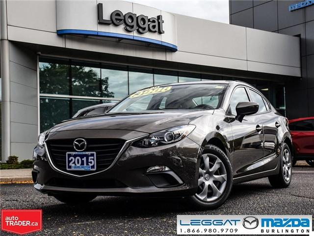 2015 Mazda Mazda3 GX AUTOMATIC, A/C, BLUETOOTH (Stk: 1673) in Burlington - Image 1 of 16