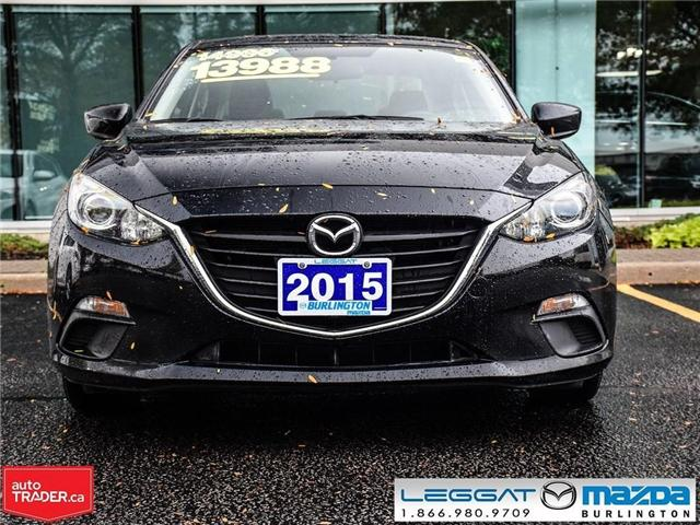 2015 Mazda Mazda3 AUTOMATIC, BLUE TOOTH (Stk: 1676) in Burlington - Image 2 of 17