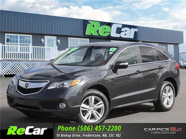 2013 Acura RDX Base (Stk: 181094A) in Fredericton - Image 1 of 27