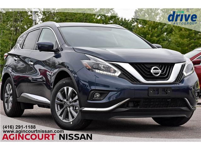 2018 Nissan Murano SL (Stk: JN139954) in Scarborough - Image 1 of 10