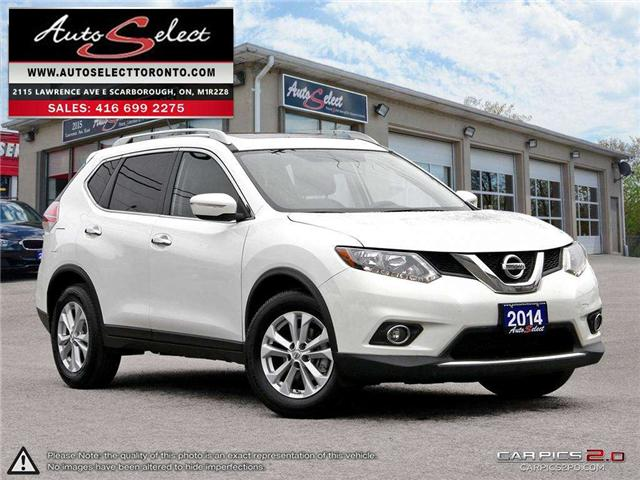 2014 Nissan Rogue  (Stk: 14RGHV1) in Scarborough - Image 1 of 28