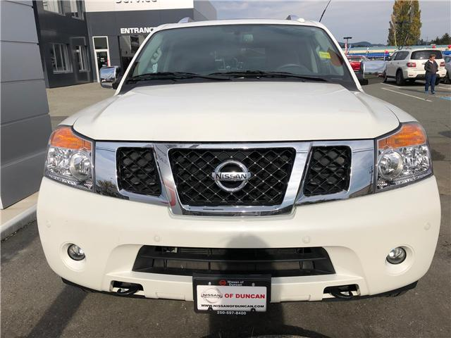 2015 Nissan Armada Platinum (Stk: 8M4687A) in Duncan - Image 2 of 8