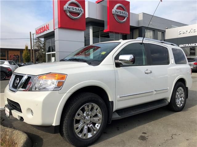 2015 Nissan Armada Platinum (Stk: 8M4687A) in Duncan - Image 1 of 8