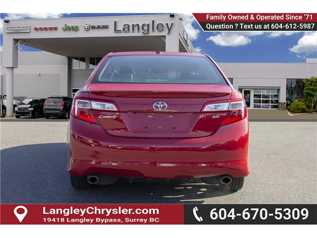 2014 Toyota Camry SE (Stk: EE898790) in Surrey - Image 5 of 23