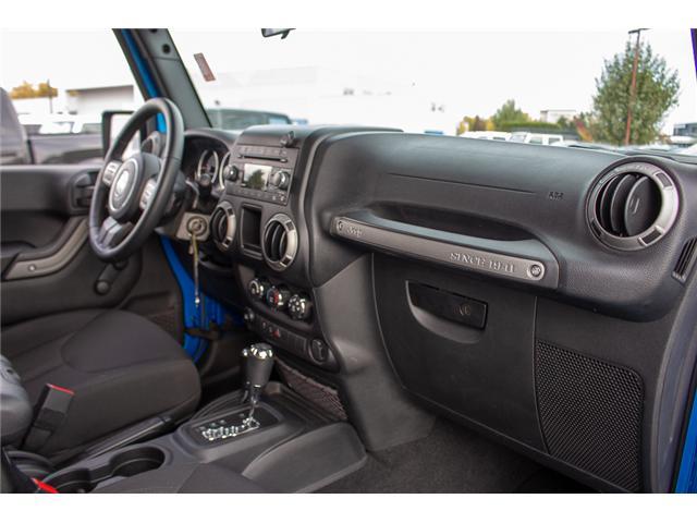 2016 Jeep Wrangler Sport (Stk: J313244A) in Surrey - Image 12 of 21