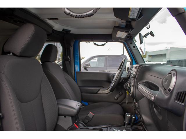 2016 Jeep Wrangler Sport (Stk: J313244A) in Surrey - Image 13 of 21