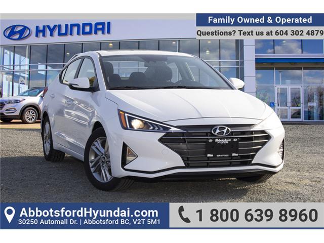 2019 Hyundai Elantra Preferred (Stk: KE768440) in Abbotsford - Image 1 of 27