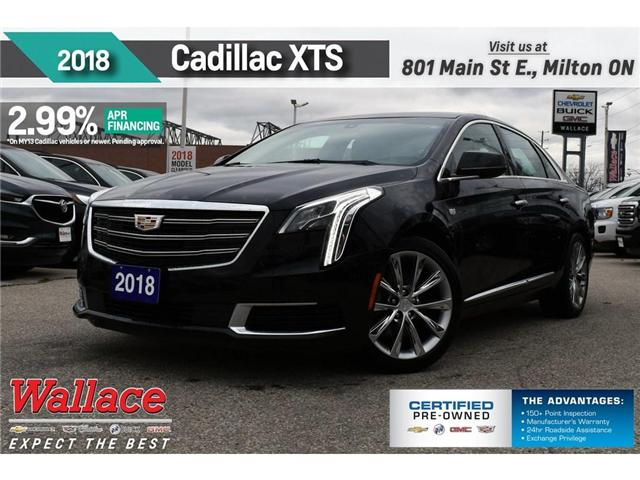 2018 Cadillac XTS UP TO 2.99% FNC/HTD SEATS/8 SCRN/RMT STRT/BOSE (Stk: PR5019) in Milton - Image 1 of 19