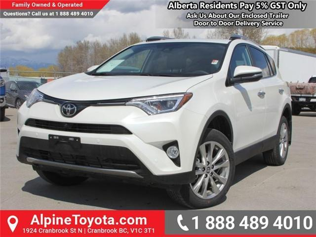 2018 Toyota RAV4 Limited (Stk: W730740) in Cranbrook - Image 1 of 18