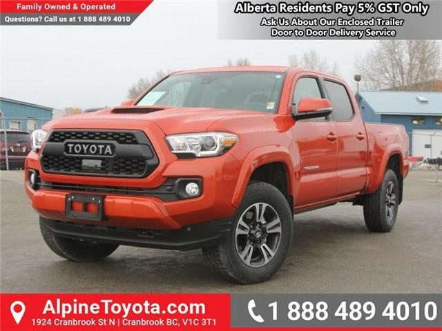 2018 Toyota Tacoma SR5 (Stk: X032960) in Cranbrook - Image 1 of 17