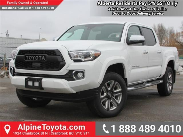 2018 Toyota Tacoma Limited (Stk: X137847) in Cranbrook - Image 1 of 19
