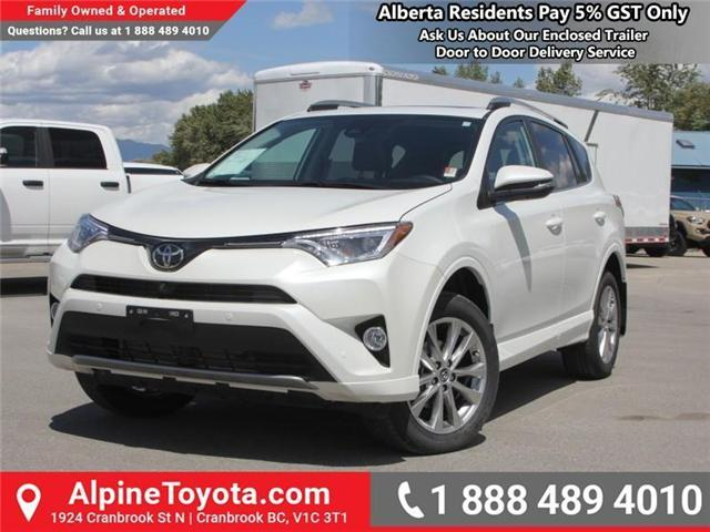 2018 Toyota RAV4 Limited (Stk: W784670) in Cranbrook - Image 1 of 19