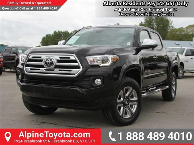 2018 Toyota Tacoma Limited (Stk: X144829) in Cranbrook - Image 1 of 19