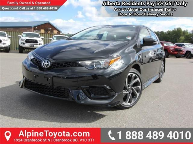 2018 Toyota Corolla iM Base (Stk: J573279) in Cranbrook - Image 1 of 17