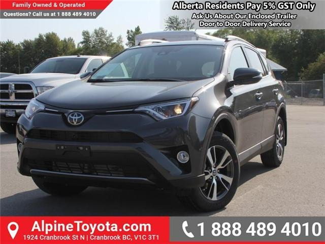 2018 Toyota RAV4 XLE (Stk: W796844) in Cranbrook - Image 1 of 17