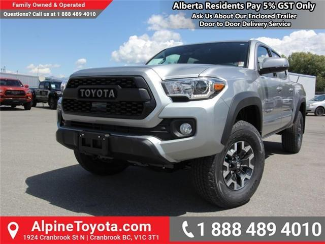 2018 Toyota Tacoma TRD Off Road (Stk: X149449) in Cranbrook - Image 1 of 16