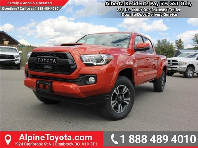 2018 Toyota Tacoma SR5 (Stk: X035977) in Cranbrook - Image 1 of 16