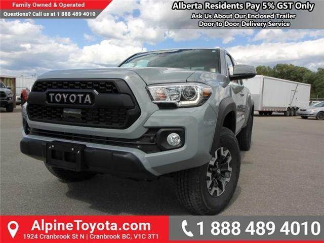 2018 Toyota Tacoma TRD Off Road (Stk: X150406) in Cranbrook - Image 1 of 19