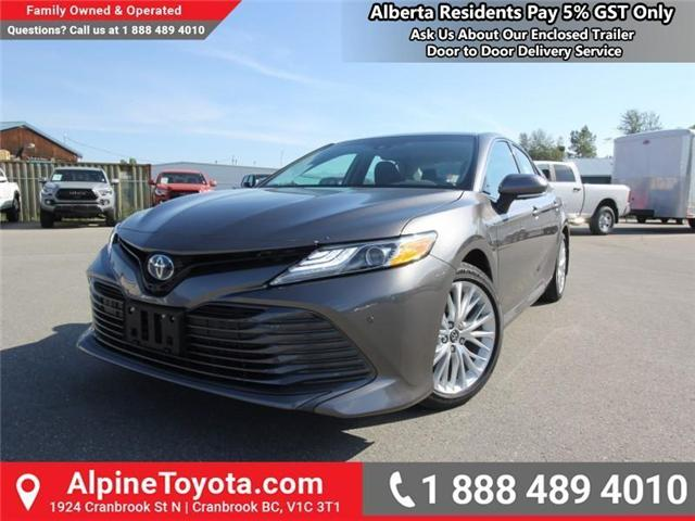 2018 Toyota Camry Hybrid XLE (Stk: U508076) in Cranbrook - Image 1 of 19