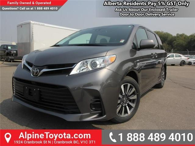 2018 Toyota Sienna LE 7-Passenger (Stk: S207195) in Cranbrook - Image 1 of 16