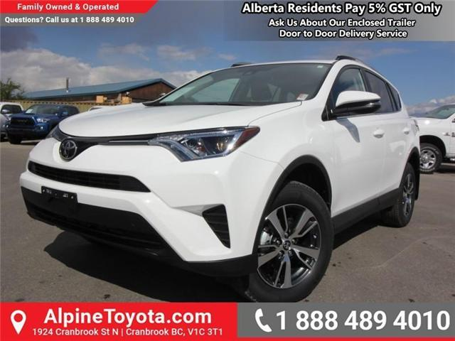 2018 Toyota RAV4 LE (Stk: W825244) in Cranbrook - Image 1 of 18
