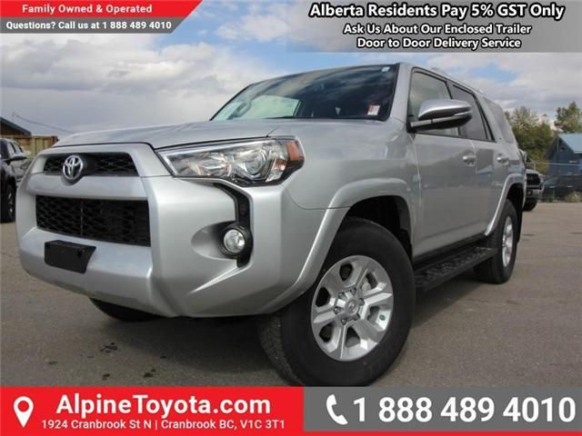 2018 Toyota 4Runner SR5 (Stk: 5604104) in Cranbrook - Image 1 of 18