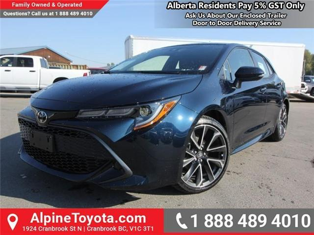 2019 Toyota Corolla Hatchback SE Upgrade Package (Stk: 3009533) in Cranbrook - Image 1 of 17