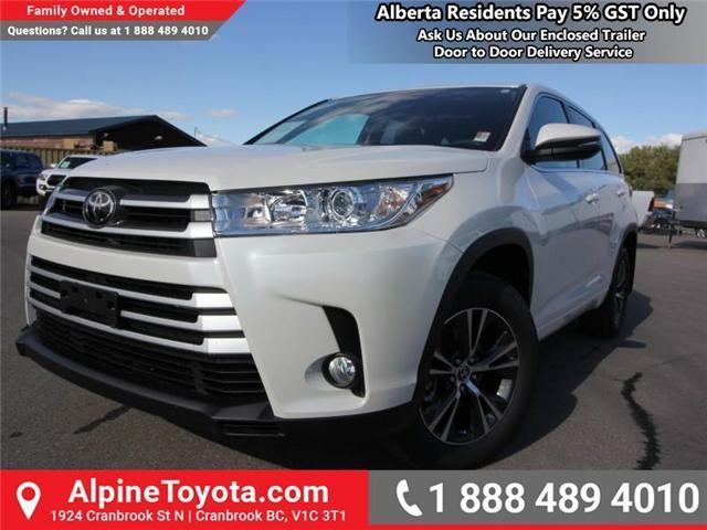 2018 Toyota Highlander LE (Stk: S907391) in Cranbrook - Image 1 of 18