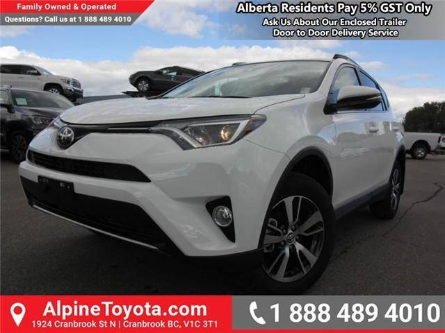 2018 Toyota RAV4 XLE (Stk: W834467) in Cranbrook - Image 1 of 19
