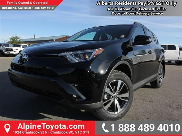 2018 Toyota RAV4 LE (Stk: W834694) in Cranbrook - Image 1 of 18
