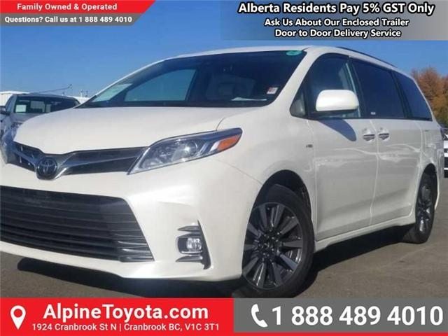 2019 Toyota Sienna XLE 7-Passenger (Stk: S210073) in Cranbrook - Image 1 of 16