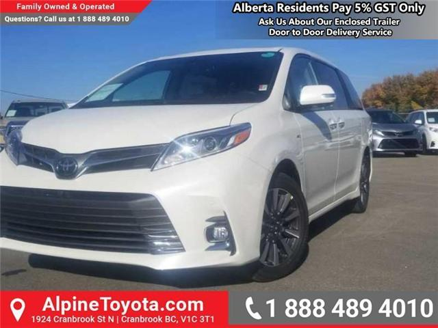 2019 Toyota Sienna Limited Package (Stk: S213314) in Cranbrook - Image 1 of 16