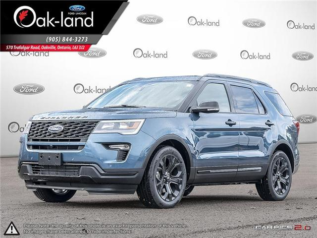 2019 Ford Explorer Sport (Stk: 9T098) in Oakville - Image 1 of 25
