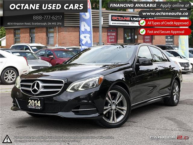 2014 Mercedes-Benz E-Class Base (Stk: ) in Scarborough - Image 1 of 25